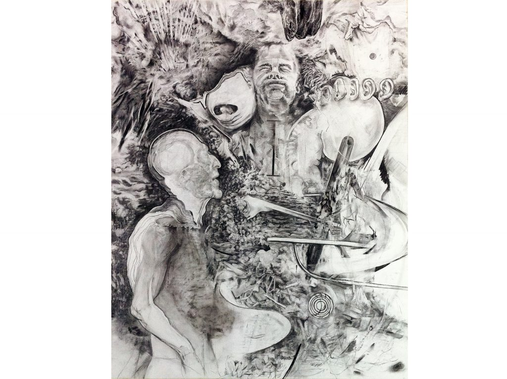"""Daniel Nehring Kunstwerk """"O.T. (PaulStap)"""" Pastell, Zeichnung, Pastel, Drawing, Fine Art, Art"""