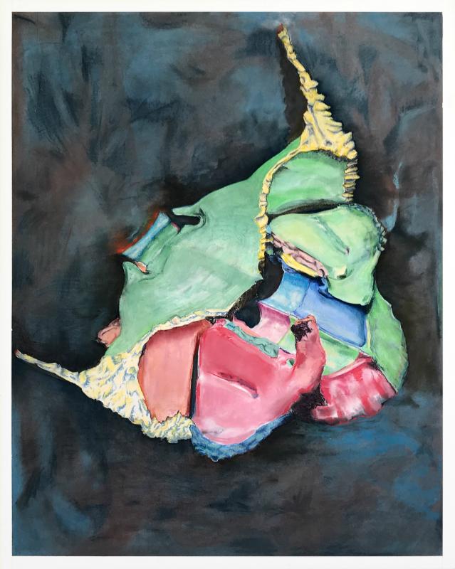 Daniel Nehring, Kunstwerk Vanitas_Plastic_Version_001, Pastell, Zeichnung, Pastel, Drawing, Fine Art, Art
